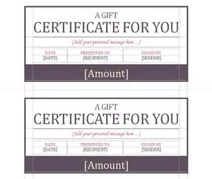 Small Certificate Template by Gift Certificate Template Gift Certificate Template Word