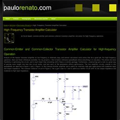 transistor calculator electronics pearltrees