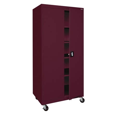 sandusky ta4r362472 mobile storage cabinet