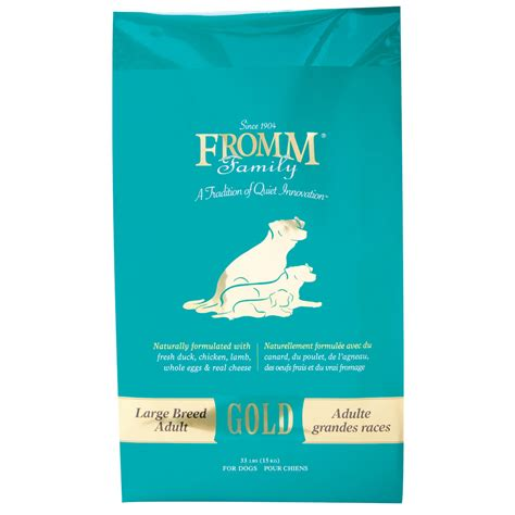 large breed puppy food fromm gold large breed food petsolutions