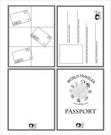 Passport Photo Print Template passport template 19 free word pdf psd illustrator