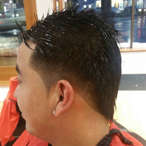 faded side haircut 22 mohawk fade haircut ideas designs hairstyles