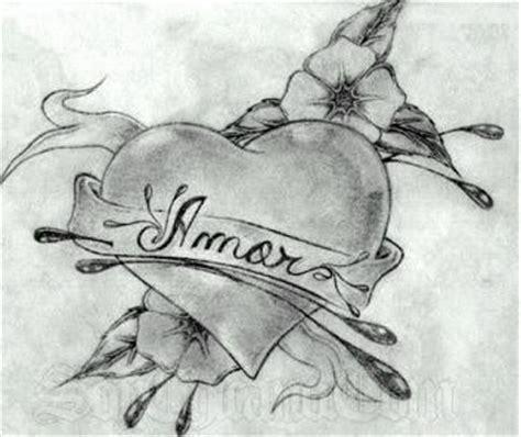 imagenes de amor hechas a lapiz dibujo de corazon de amor para calcar y utilizar dibujos