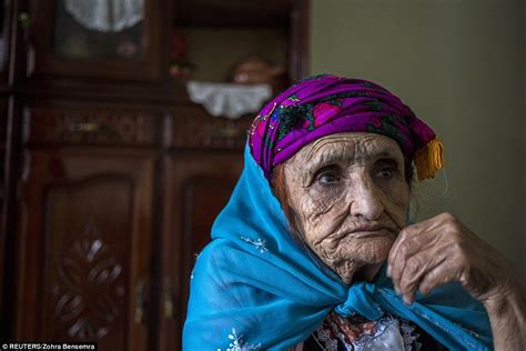 muslim woman tattoo face pain of algeria s tattooed old ladies who were forced to