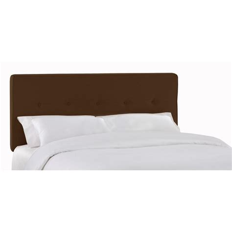 home decorators headboards home decorators collection soho chocolate headboard 682pchoc the home depot