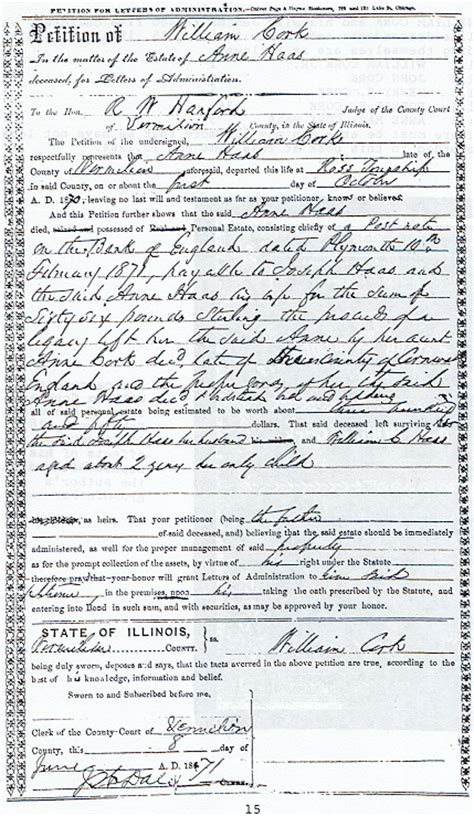 Pickaway County Ohio Marriage Records Cork Family Documents