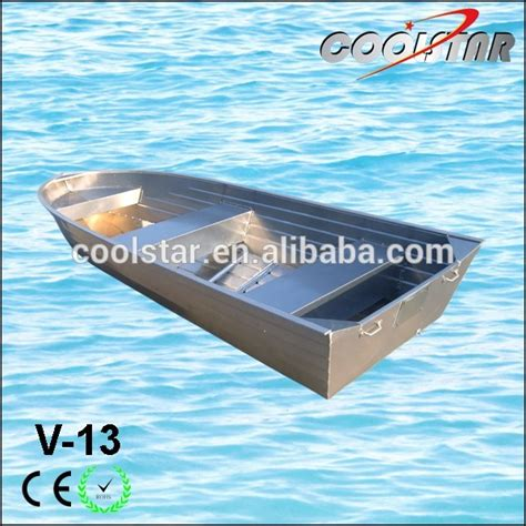 aluminium catamaran hull thickness 2 0mm thickness v bow aluminum fishing boat with square