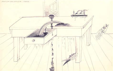 Kitchen Table Drawing Anton Dalen