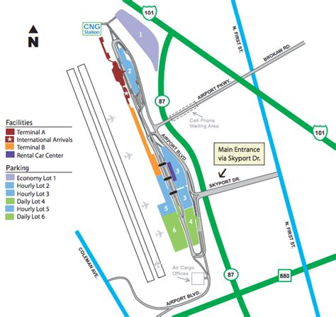 san jose airport parking guide find cheap sjc parking