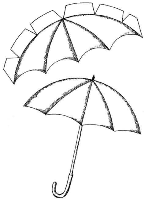 Umbrella Template For Card by Umbrella Top Template Free To Use Sombrilla Para