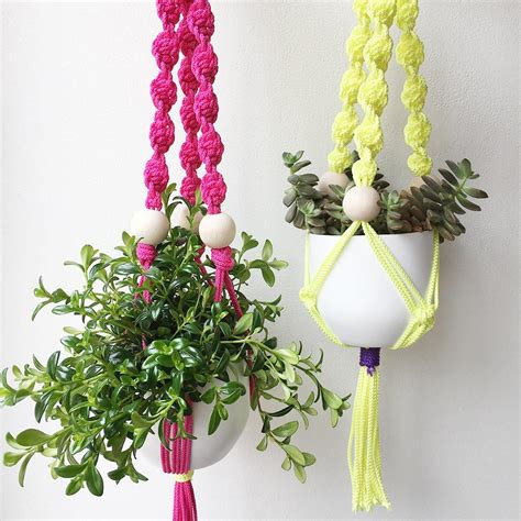 Macrame Plant Hanger Supplies - macrame plant hanger workshop craft company