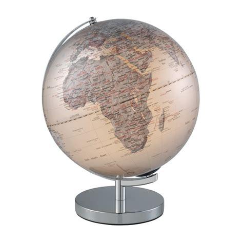 mappamondo illuminato mascagni mappamondo illuminato argento 248 30 cm