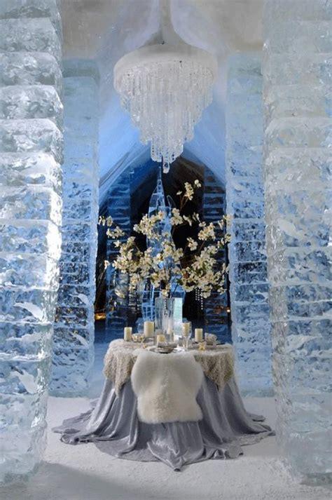 ice hotel in jukkasj 228 rvi sweden unique winter wedding