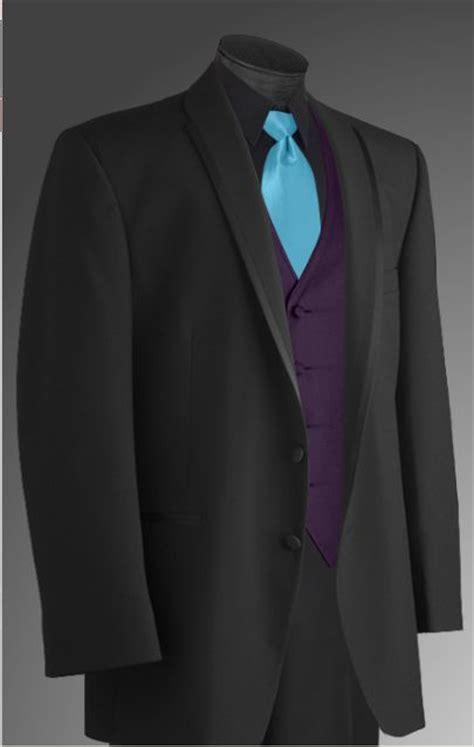 image detail for option three black tux black shirt