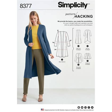 design pattern hacker news womens knit cardigan for design hacking simplicity sewing