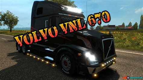 volvo american truck volvo vnl 670 interior v1 0 187 download ets 2 mods