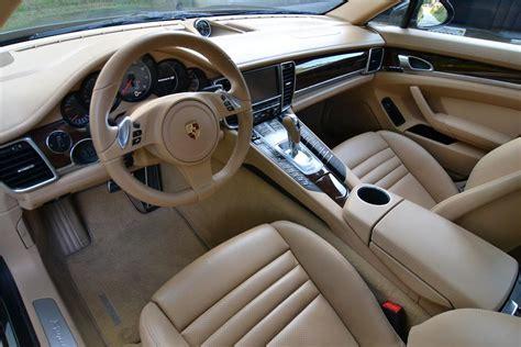 4 Door Porsche Interior 2010 Porsche Panamera 4s 4 Door Seda Barrett Jackson Auction Company World S Greatest