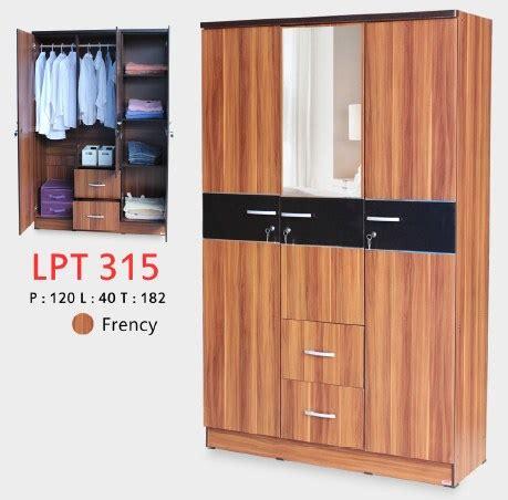 Lemari Pakaian Bandung lunar lpt 315 lemari pakaian 3 pintu satu kantor