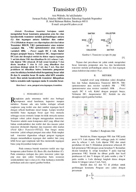 transistor elektronika makalah elektronika transistor 28 images elektronika amatir komponen komponen elektronika