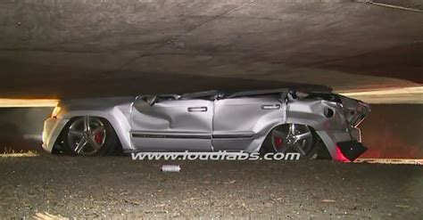 srt8 jeep logo jeep grand cherokee srt8 gets crushed under a freeway r