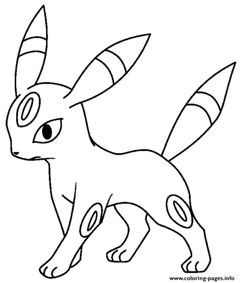 coloring pages info eevee evolution coloring pages printable