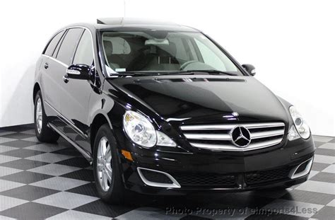 mercedes r500 2006 used mercedes r class certified r500 v8 4matic