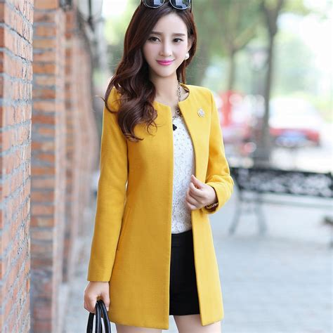 Best Quality Blazer Korea Polar Coat Korea Kareen Navy Blazer 2018 aliexpress buy sexemara top quality coat winter jacket casual wool coat 2017