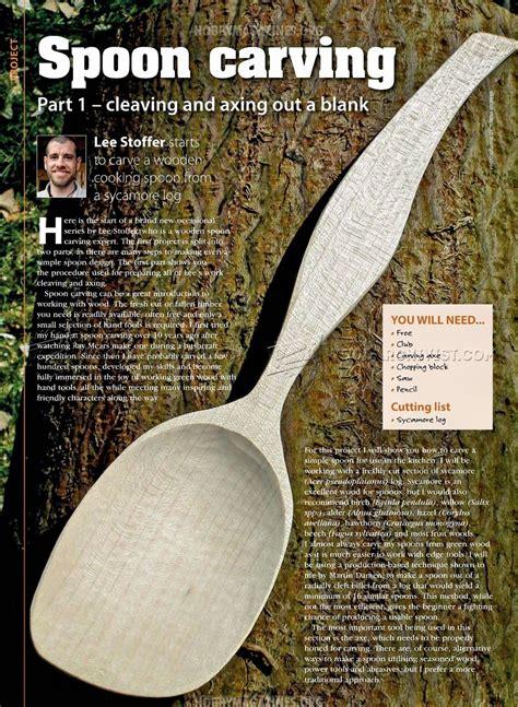 spoon carving woodarchivist