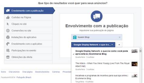 facebook ads tutorial em portugues como vender pelo facebook conhe 231 a os tipos de an 250 ncio