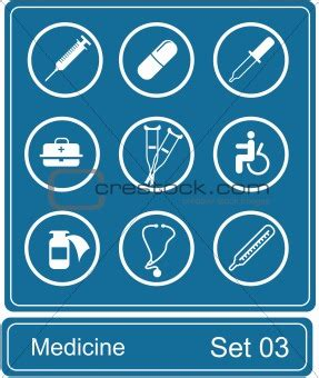 Restock Webe Doctor Set Sm34 image 839782 medicine icon set from crestock stock photos