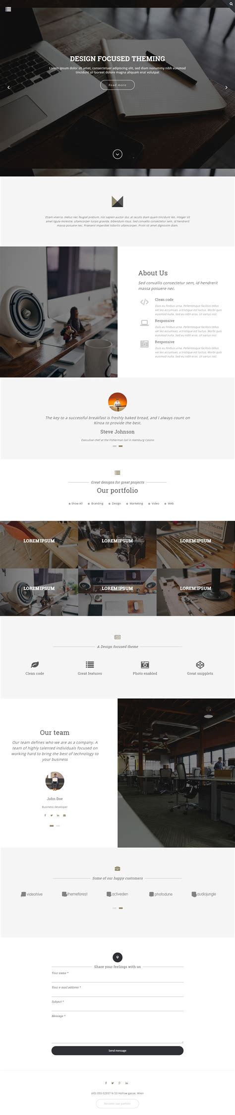 themes drupal 2015 5 best responsive bootstrap drupal themes in 2015