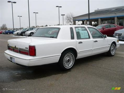 1996 performance white lincoln town car executive 26068173 photo 6 gtcarlot car color