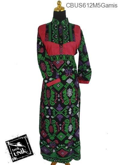 Foto Baju Volly Motif Batik baju batik sarimbit gamis motif kalimatan gamis batik murah batikunik