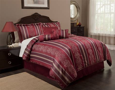 total fab burgundy comforter bedding sets