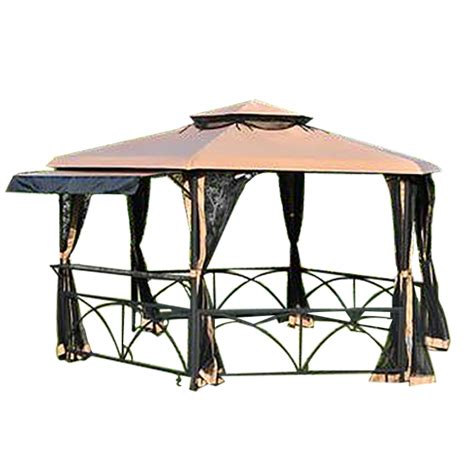 Gazebo Replacement Canopy Replacement Canopy And Net For Bayfield Gazebo Riplock