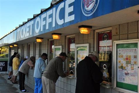 New Box Office by Mlb New Hammond Stadium Box Office Opening Saturday