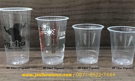 Plastik Tenteng Gelas Thai Tea print gelas plastik 22oz 16oz 14oz 12oz cetak gelas plastik branding