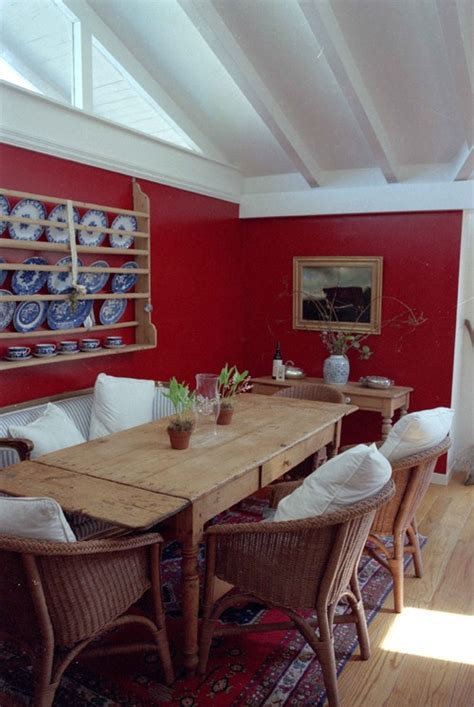 red dining room walls how to decorate around a red wall aol finance