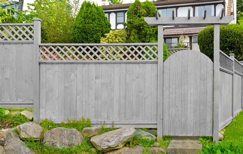 fence paint colors wooden fence colors that will wow your neighbors