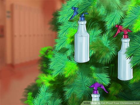 i have a cat need cat proof xmas tree 3 ways to cat proof your tree wikihow