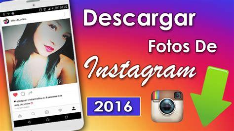 descargar imagenes web android como descargar fotos de instagram android