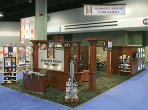 harvest house publishers trade show banners display arwork signs sterling display graphics