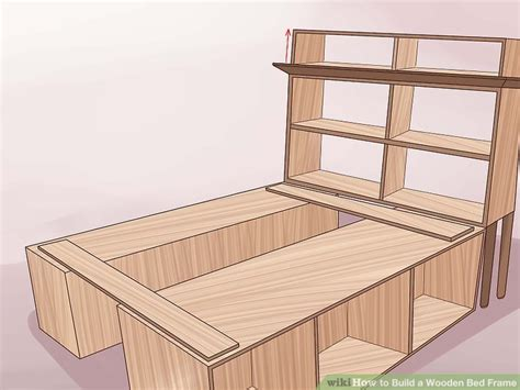 Top New Terlaris Sprei Uk 160x200 3 ways to build a wooden bed frame wikihow