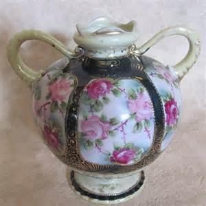 antique nippon vase maple leaf aglimpseofglory