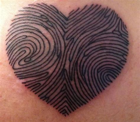 thumbprint heart tattoo 140 awesome designs of tattoos for bigshocking