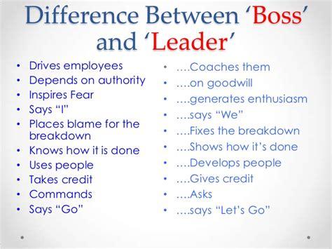 versus leader