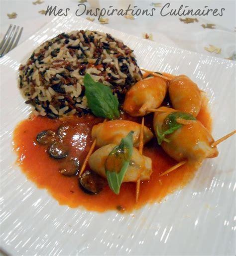 cuisine encornet encornets farcis recette facile le cuisine de samar