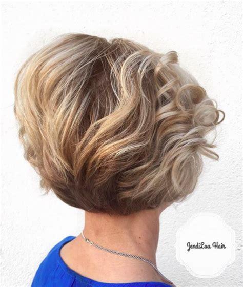 medium length a line bob haircuts gallery layered brown