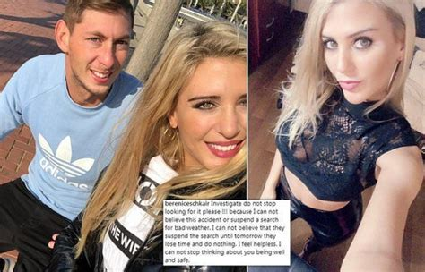 sala wife emiliano sala s ex calls for the soccer mafia to be