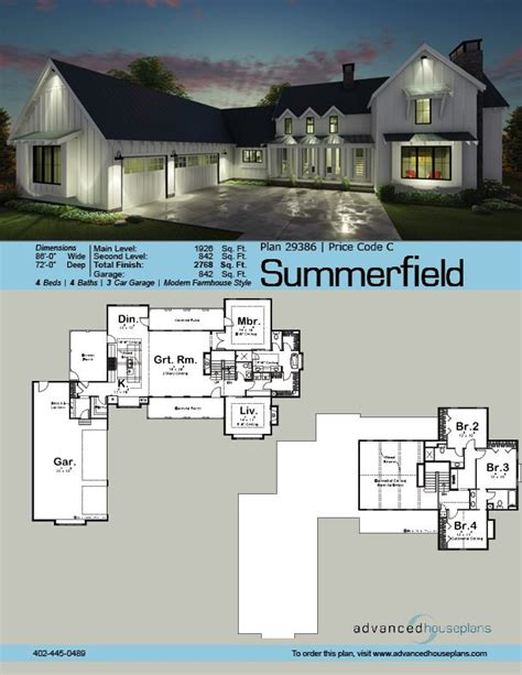 2 story farmhouse floor plans best 25 modern farmhouse plans ideas on